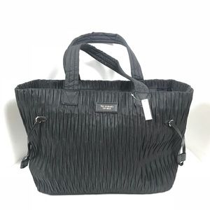 NWT VICTORIA'S SECRET Black tote bag
